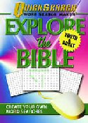 More information on Explore the Bible:Quicksearch Word Search Maker Youth & Adult (CD ROM)