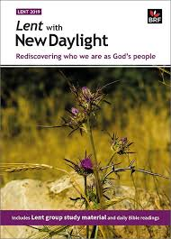 More information on Lent With New Daylight 2019