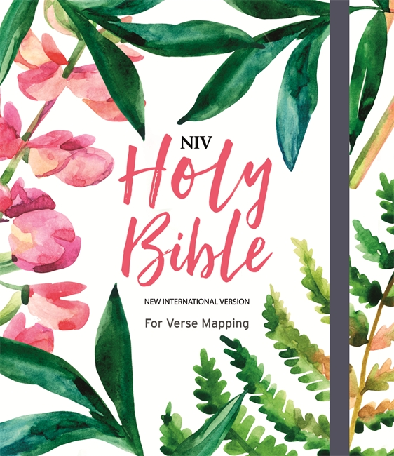 More information on NIV Bible For Journalling and Verse -  Mapping Floral