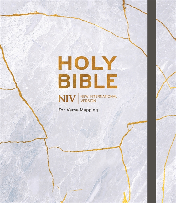 More information on Niv Bible For Journalling and verse- Mapping Hardback Kintsugi