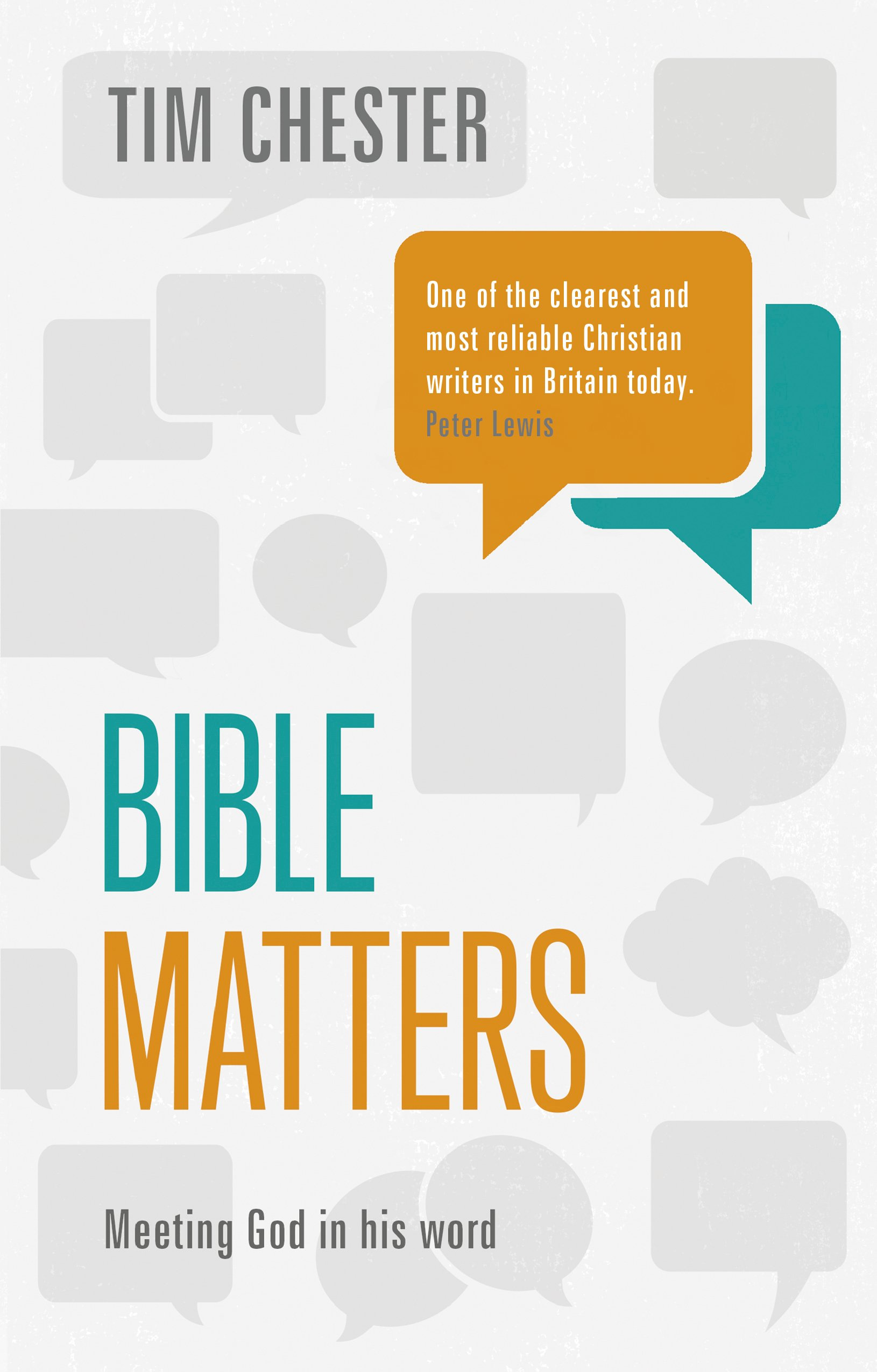 More information on Bible Matters Meeting God in His Word